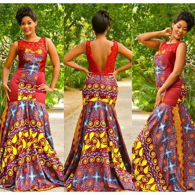 14 stylish ankara mermaid dresses you should sew 14 Stylish Ankara Mermaid Dresses You Should Sew mer2