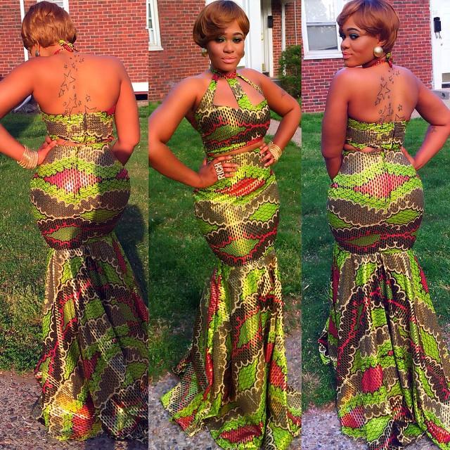 14 stylish ankara mermaid dresses you should sew 14 Stylish Ankara Mermaid Dresses You Should Sew mer3