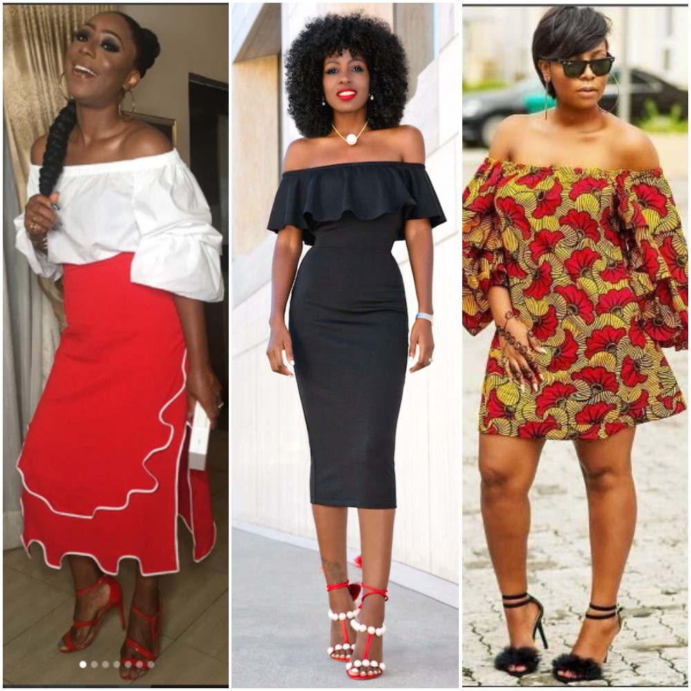10 Photos That Prove Every Lady Should Have An Off Shoulder Dress In Her  Wardrobe 45ada488f112