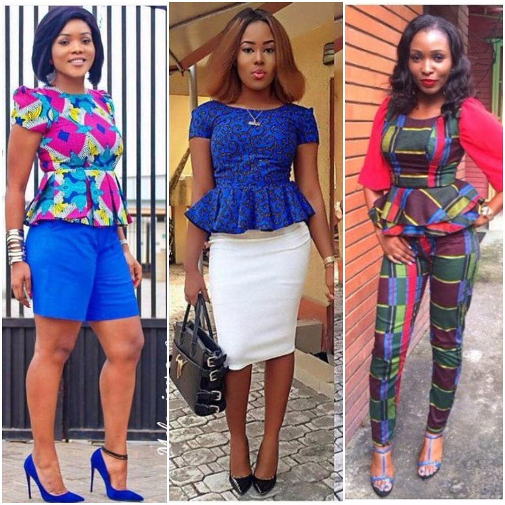 15 Elegant Ways To Rock Your Peplum Ankara Blouse