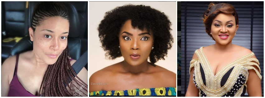 Nigerian Female Celebrities Who Have Lovely Skin