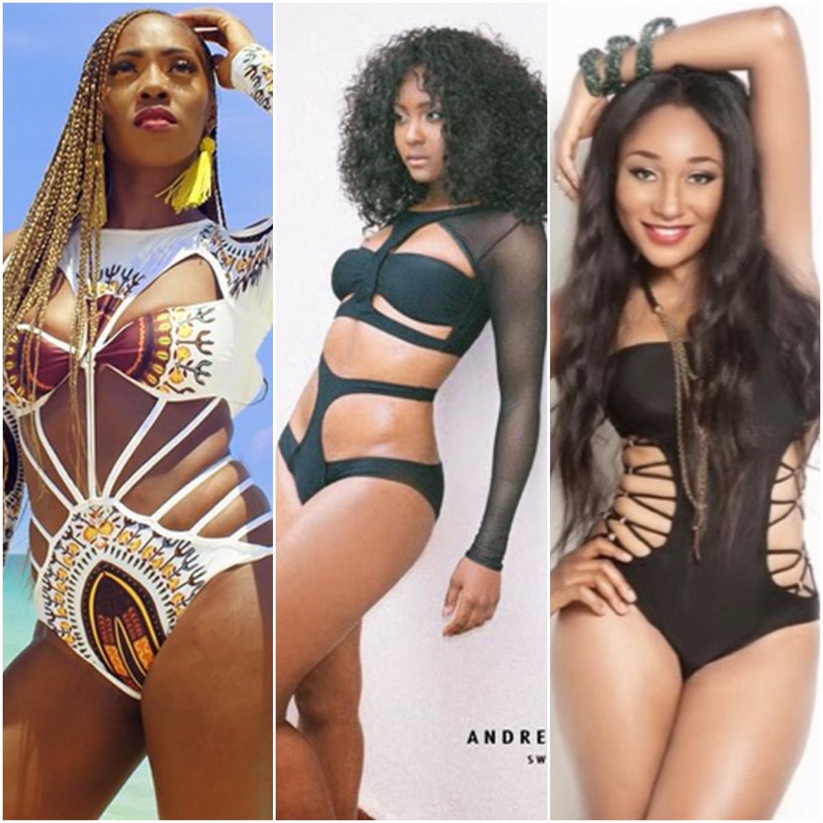 Nigerian Female Celebrities In A Bikini