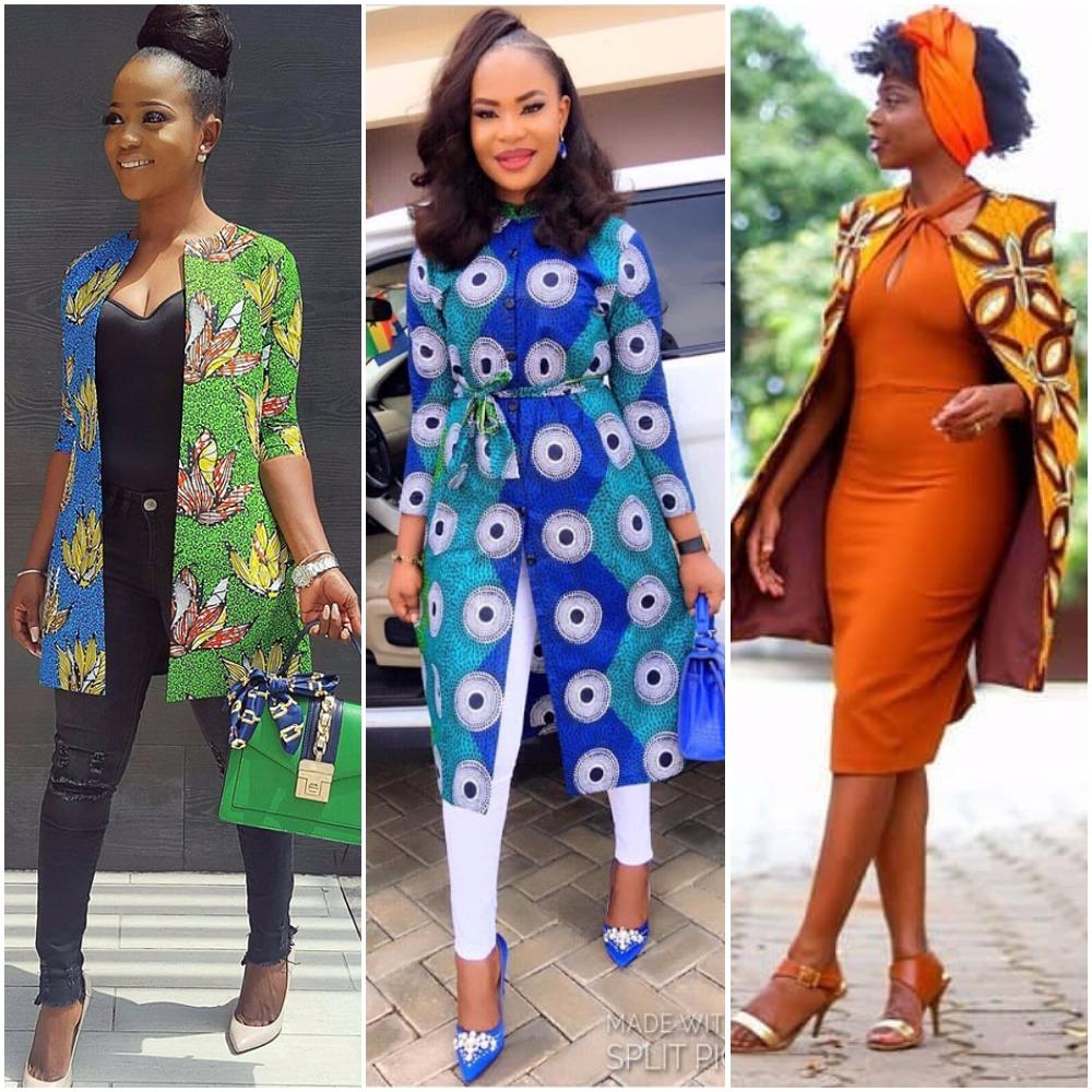 Latest Ankara Kimono Jackets 2017 Fabwoman