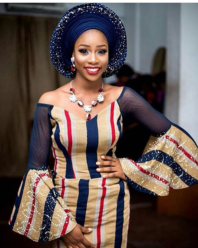 Latest Aso Oke Styles For Brides Fabwoman