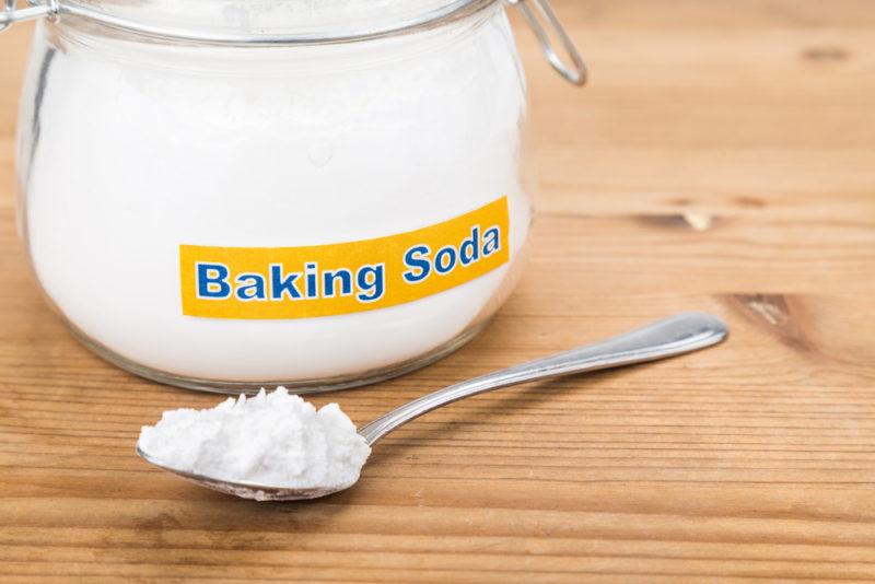baking soda for white heads