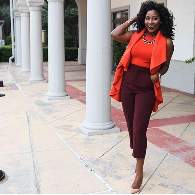 Stylish Black Woman: Fashionable Black Woman 3 - FabWoman