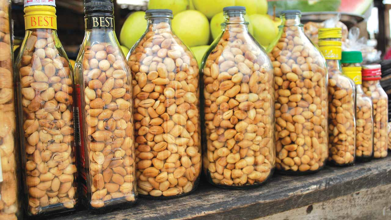 health benefits of groundnuts