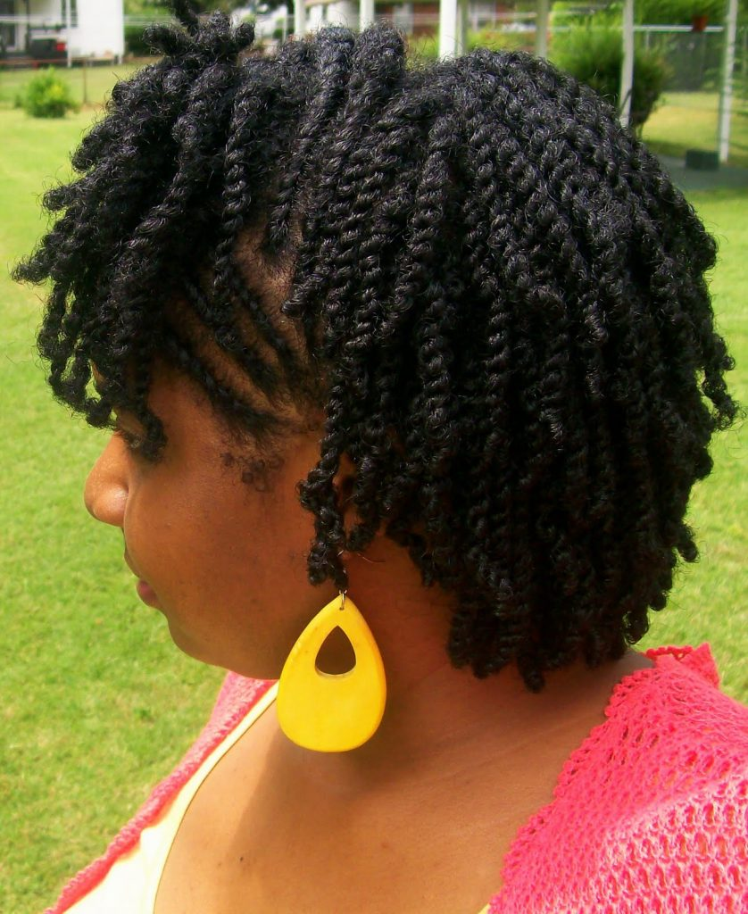 how to twist natural hair