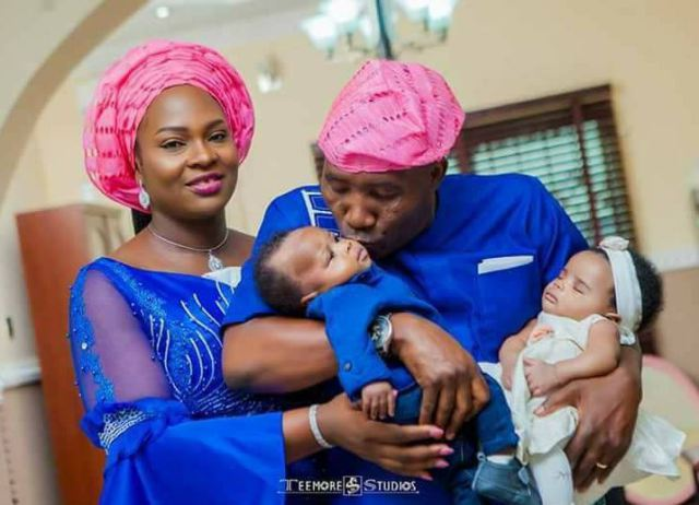 Nigerian Couple Welcome Twins