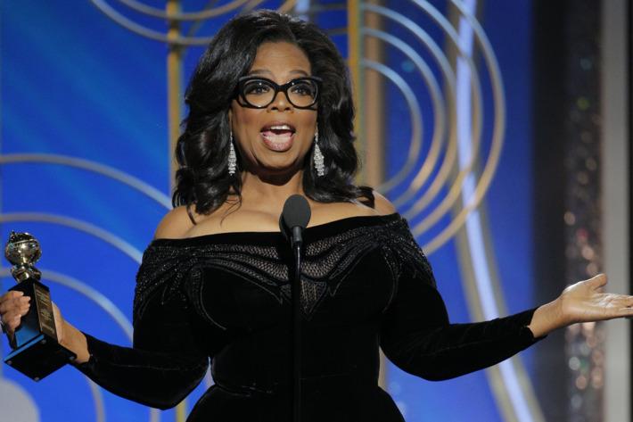 Oprah Winfrey's Speech At Golden Globe Awards 2018