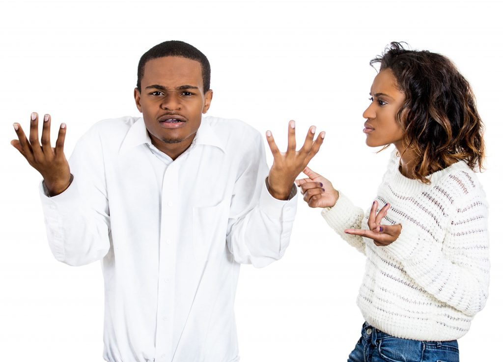 Tips For Dealing With An Angry Partner