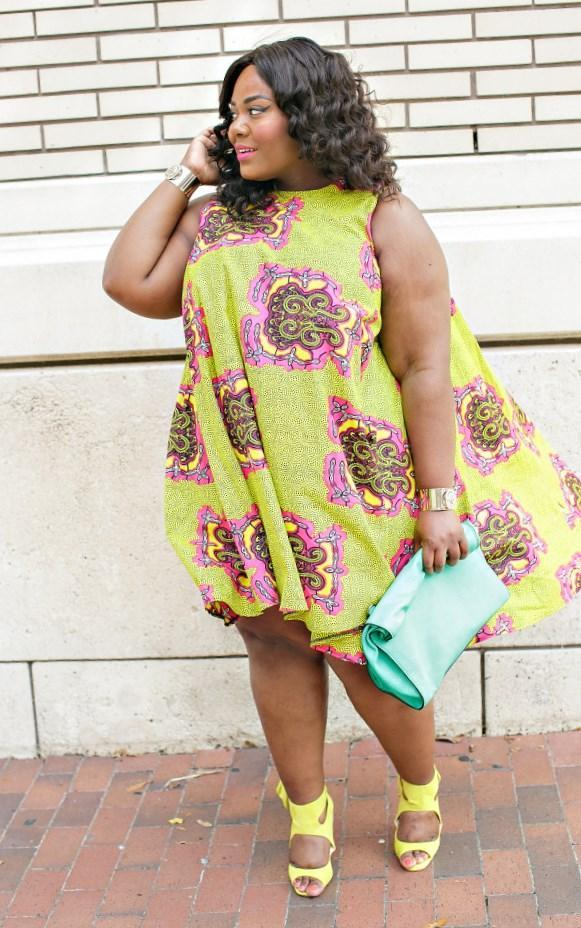 Ankara Styles For Curvy Ladies