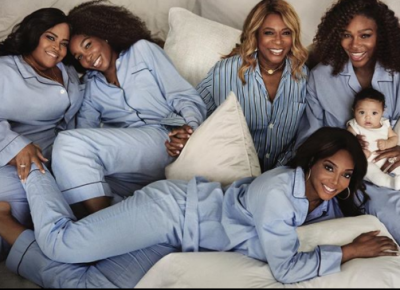 Serana Williams Shares Photo Of Her Mother, Sisters And Daughter