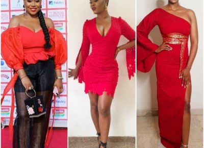 Nigerian Female Celebrities At Royal Hibiscus Hotel Movie Premiere