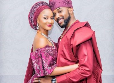 Adesua Etomi Birthday Wishes To Banky W