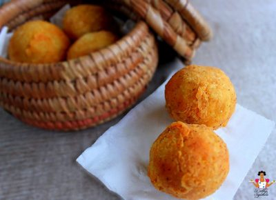 Stuffed Yam Balls Recipe
