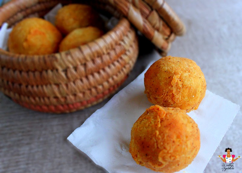 Stuffed Yam Balls Recipe
