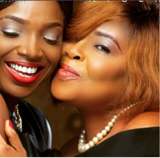 Nigerian Female Celebrities Who Celebrated Their Mother On Mother's Day