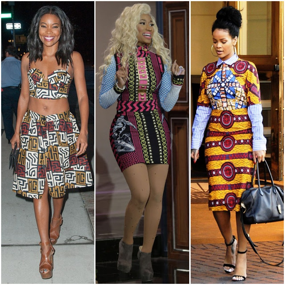 Foreign Celebrities Ankara Dresses