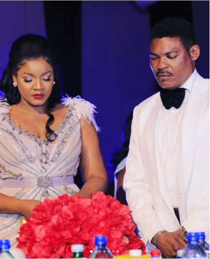 Omotola Jalade And Husband 22nd Wedding Anniversary