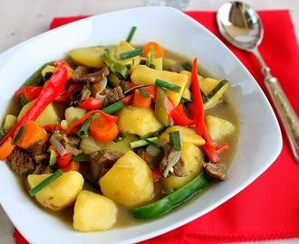 Potato Peppersoup Recipe