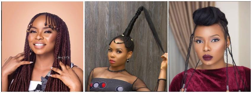 Yemi Alade Hairstyles