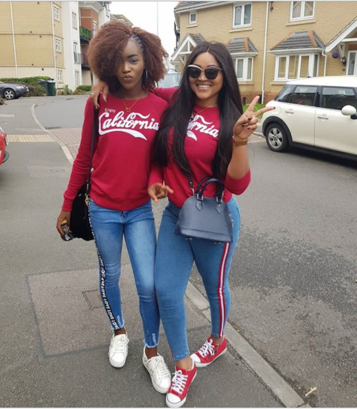 Mercy Aigbe And Children Vacation In London