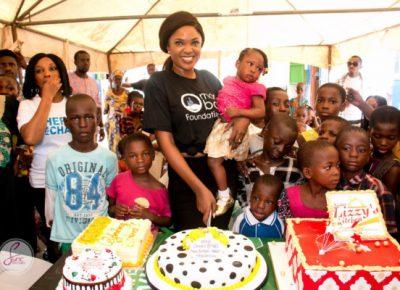 Omoni Oboli Feeding Outreach