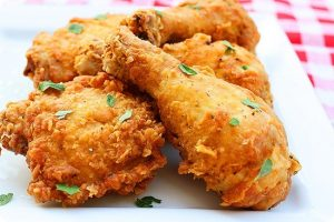 Crunchy Fried Chicken Recipe