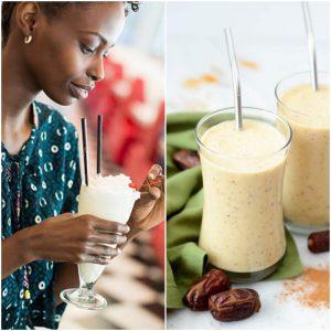 date milk shake recipe