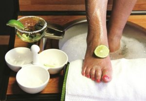 how to do your own pedicure