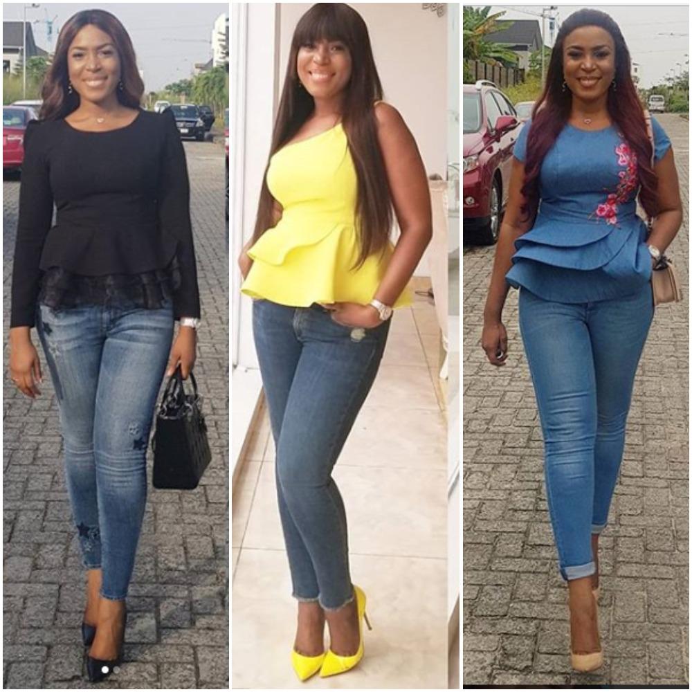 Linda Ikeji Jeans