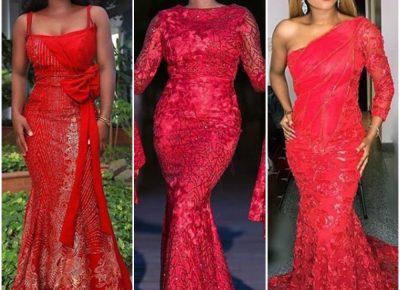 Red Asoebi Styles