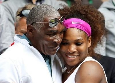 Serena Williams Father Walk Her Down The Aisle