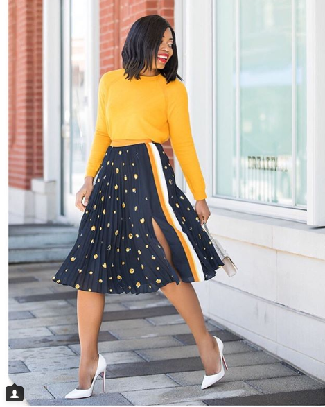 10 Outfit Inspiration For Fashionable Ladies Who Don't Put on Trousers stylet6