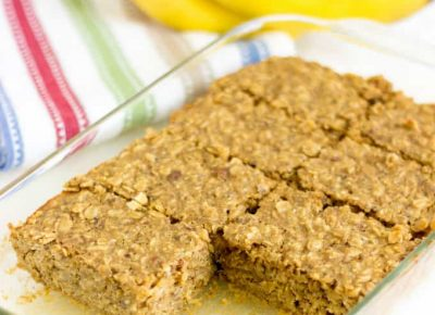 Banana Oat Snack Recipe