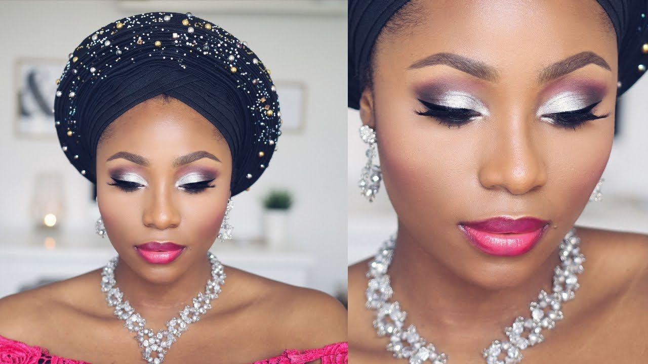 This Easy Tutorial Would Teach You How To Achieve Simple Makeup For Owambe