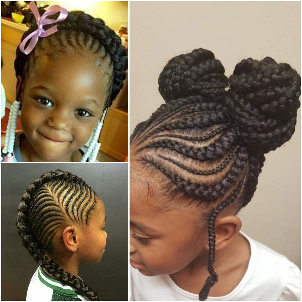 Latest Ghana Weaving Hairstyles For Children Fabwoman