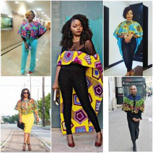 7 Stylish Ways You Can Wear An Ankara Cape Top This Weekend
