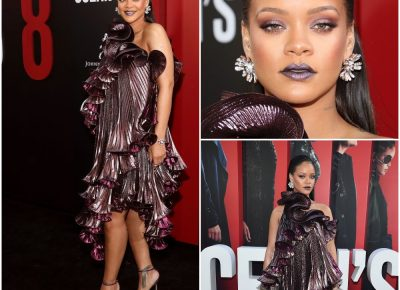 Rihanna Red Carpet Look Oceans 8 Movie Premiere | FabWoman