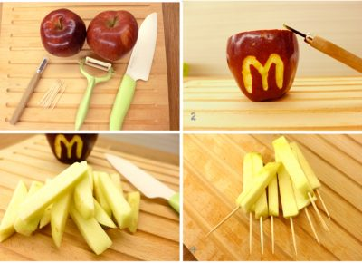 Apple French Fries Recipe
