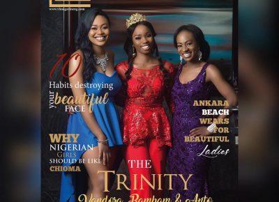 bbnaija stars vl magazine cover