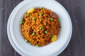 Here's How To Prepare Jollof Bulgur Wheat In 11 Easy Steps