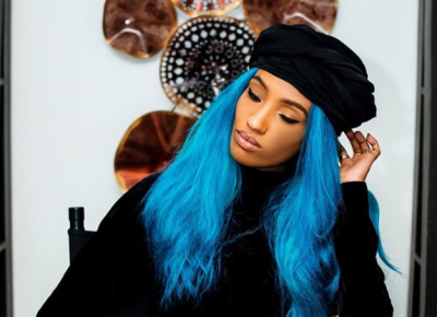 Dija Blue Hair Photos