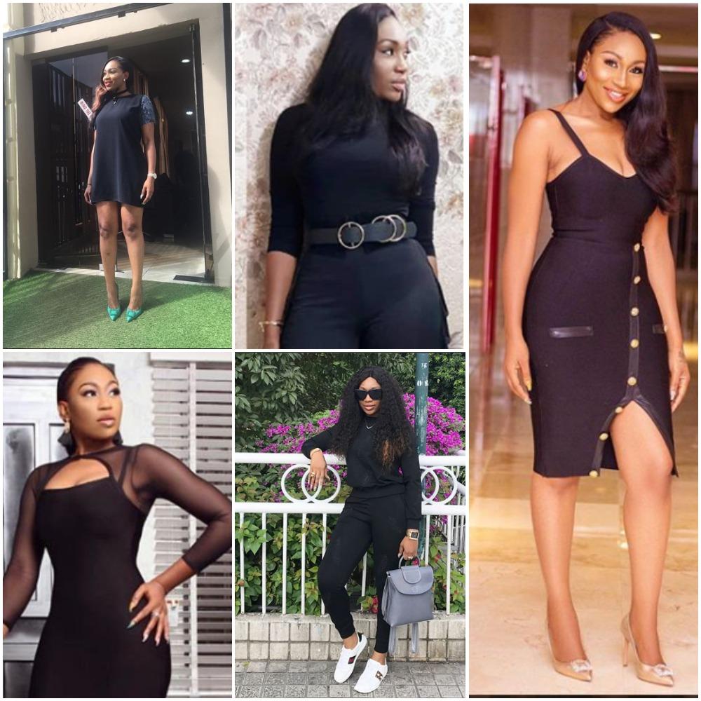 Ebube Nwagbo Black Outfits