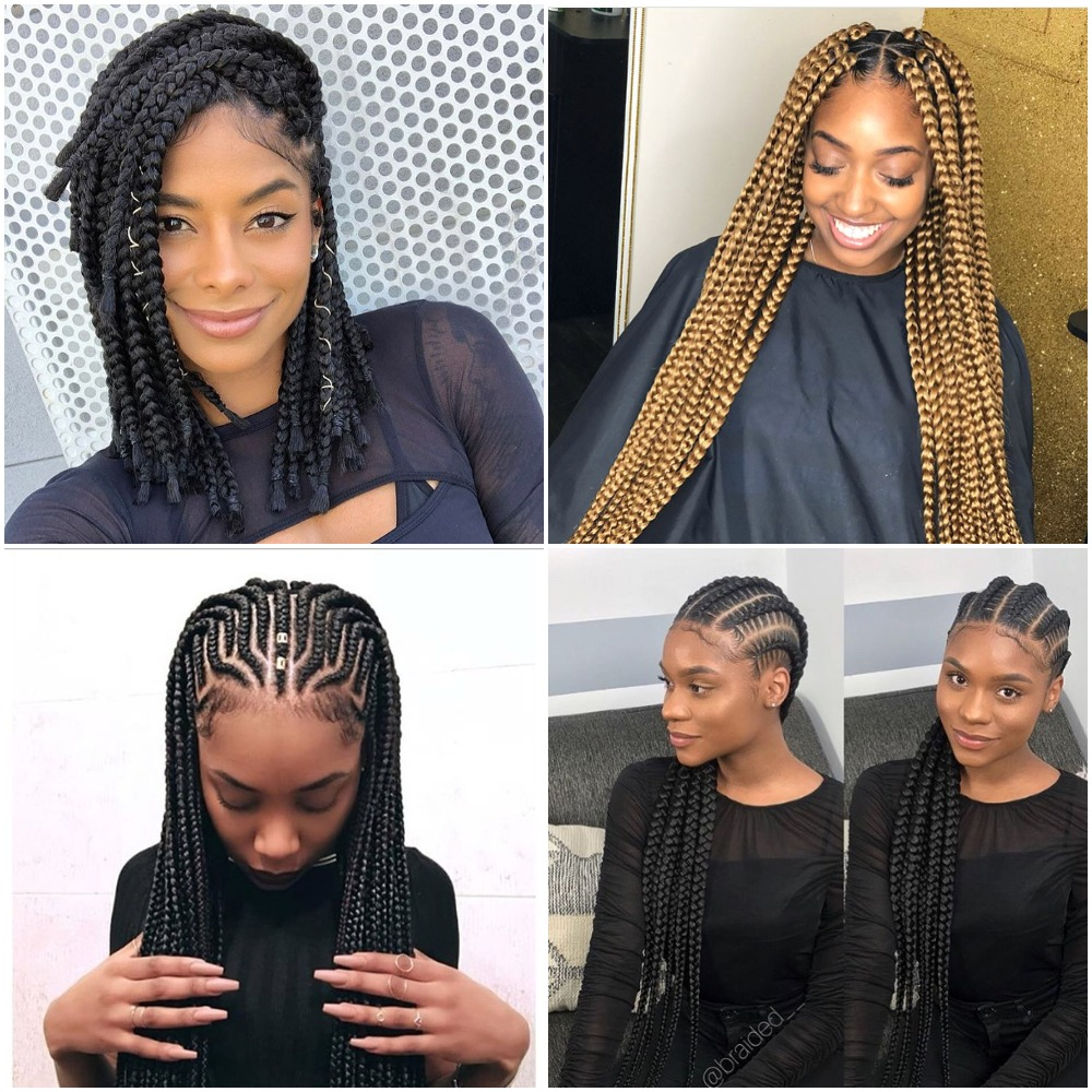 Latest Braided Hairstyles For 2018 Photos Fabwoman