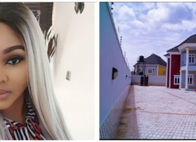 Mercy Aigbe New House