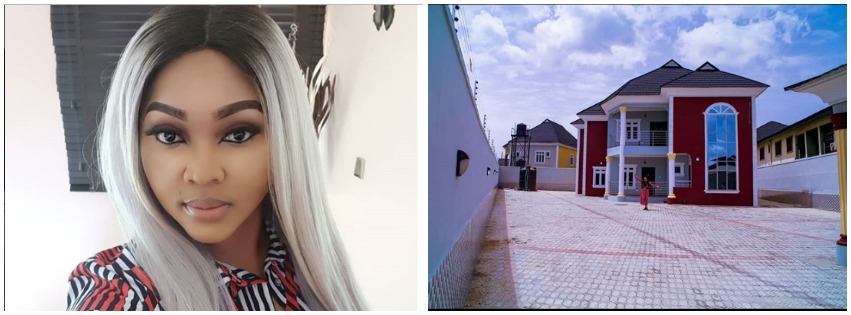 Mercy Aigbe Keeps Winning As She Shows Off New House She Just Bought In Lagos