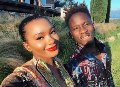 Temi Otedola Mr Eazi Couple Photos