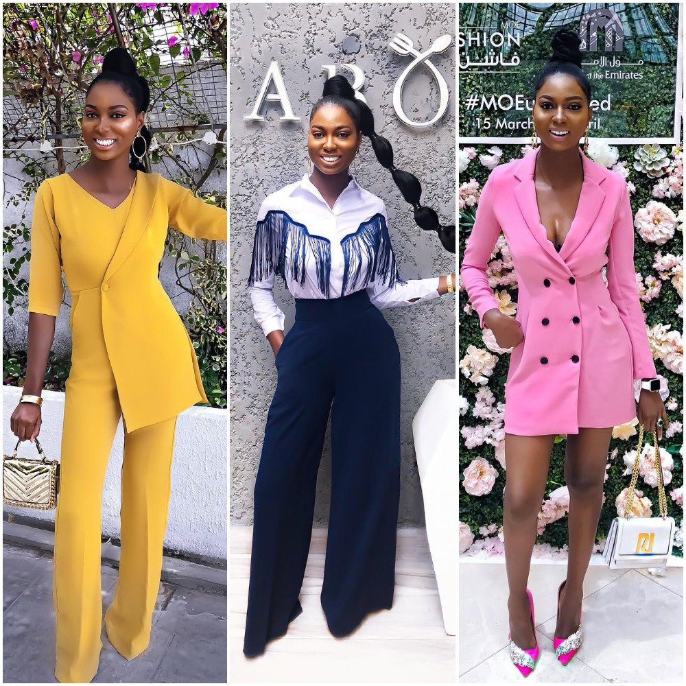 7 Times Instagram Style Influencer, Olar Slim Served Chic and Trendy Work Wear Inspiration